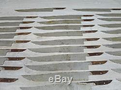 Vintage 50 Stück Klingenrohling Messerklinge Jagdnicker Knife Blank Blade