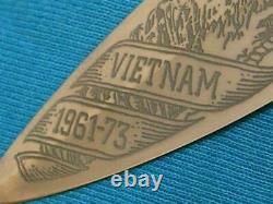 Vintage'82 Gerber USA Mark II Vietnam Navy Commando Combat Fighting Knife Bowie