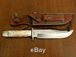 Vintage AG Russell 1999 Hunting Knife Stag Condition Is Used