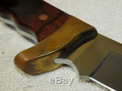 Vintage BUCK KALINGA Fixed Blade Collectible Hunting Knife & Sheath withBox J117