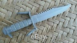 Vintage Buckmaster Buck 184 Patent Pending Survival / Hunting / Combat Knife
