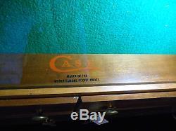 Vintage CASE Knife General Store Display Case w 8 Locking Drawers Old Hunting