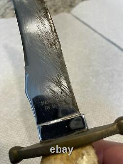 Vintage CASE XX Kodiak Fixed Blade Hunting Knife Stag Handle