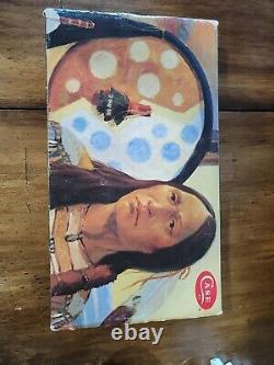 Vintage Case XX Knife Kodiak Hunter Chief Crazy Horse Cch #1072 Mint in Box