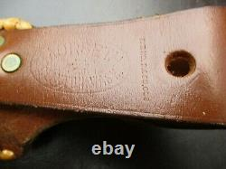 Vintage Custom Norway MORSETH Knife 3 Pc Stag Handle Fixed Blade & Sheath