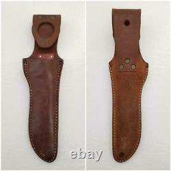 Vintage Custom Norway Morseth Brusletto Stag Handle 5 Fixed Blade Knife