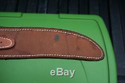 Vintage Custom RANDALL 3-7 STAG Hunting Bowie Knife w Leather Sheath & Compass