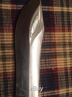 Vintage Cutco 1065 Hunting Knife With Sheath Made In USA