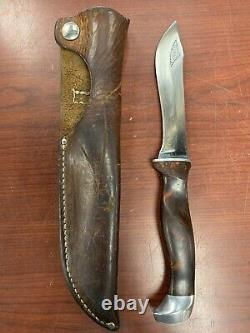Vintage Cutco 1765 Fixed Blade Hunting Knife, USA Made