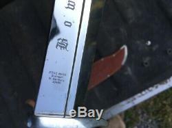 Vintage Edge Mark Stag Handle Bowie Knife 8 1/4 Blade, Solingen Germany