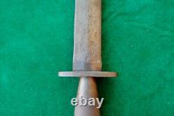 Vintage Fairbairn Sykes Commando England British Fighting Knife Dagger Khanjar