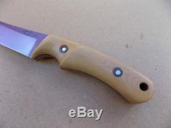 Vintage Frank Centofante Custom Hunting Skinning Knife