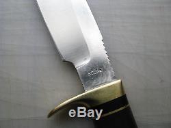 Vintage GW Stone Custom Hunting Skinning Knife