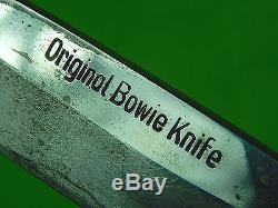 Vintage German Germany F. S. Co Solingen Original Bowie Stag Hunting Knife