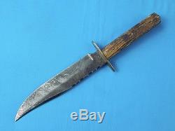 Vintage German Germany Olsen Solingen 2700 6 Blade Stag Bowie Hunting Knife