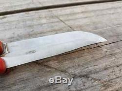 Vintage Hackman Finland Folding Pocket Knife Nice Used