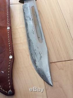 Vintage K. Tragbar Solingen Germany Hunting Knife Set Klaus Tragbar Sheath