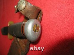 Vintage Marbles Gladstone Ideal Hunting Knife & Marbles Sheath