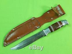 Vintage Norwegian Norway Carry Lite Limited Issue Hunting Fighting Knife Sheath