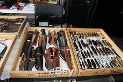 Vintage Olsen OK H. C. M. I. Fishing, Skinning, Hunting Knife