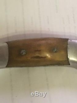 Vintage PERSONAL R. H. RUANA BONNER MONTANA ORIGINAL Hunting Knife WithSheath RARE