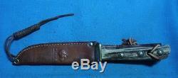 Vintage PUMA 1966 Germany Hunter's Friend 6398 Stag Hunting Knife # 53606