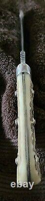 Vintage PUMA WHITE HUNTER 6377 Knife withSheath, Excellent Condition