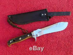 Vintage Pre-1964 Puma White Hunter 6377 STAG Fixed Blade Hunting Knife