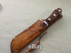Vintage Puma 6399 White Hunter Hunting Knife