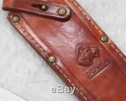 Vintage Puma-Werk Hunting Knife Bowie 6396 Sheath Gift Box Germany Solingen 1966