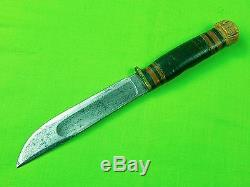 Vintage RARE US MARBLES M. S. A. Gladstone 1905 Hunting Fighting Knife