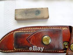 Vintage Ralph Bone Hunting Knife (Rare)