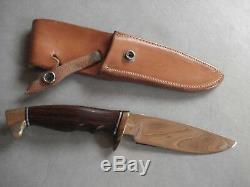Vintage Rod Chappel Custom Knifewith Original Sheath