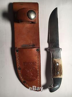 Vintage Ruana Bonner Montana M Stamp Hunting Knife