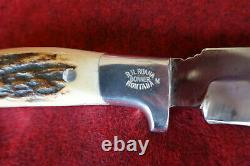 Vintage Rudy Ruana Knife & Sheath M Stamp Model 27C 1962-84