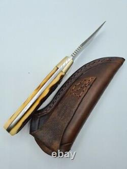 Vintage Schrade Uncle Henry 144 Old Timer Made In USA Fixed Blade Bowie Knife