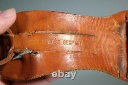 Vintage Solingen Germany Bowie Knife GL Koller Rare! Carved Stag Handle. 7.5
