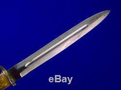 Vintage Swedish Sweden ERIK FROST Mora Hunting Knife Dagger with Sheath