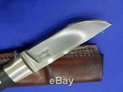 Vintage U. S Custom Hand Made Edmund Davidson Integral Loveless Hunter Knife