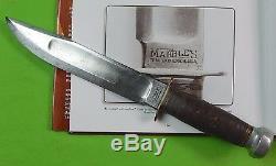 Vintage US 1918-45's Early MARBLES Gladstone MI Huge Hunting Fighting Knife