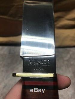 Vintage US 1992 Marbles M. S. A Trail Maker Large Hunting Knife