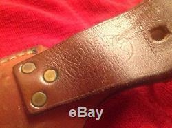 Vintage US Custom Hand Made MORSETH Hunting Knife with Sheath