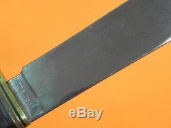 Vintage US KA-BAR KABAR Union Cutlery TRAIL BLAZER Hunting Knife with Sheath