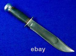 Vintage US MARBLES Gladstone Hunting Fighting Knife 7 Blade
