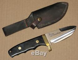 Vintage Ventura Forge custom hunting knife & sheath