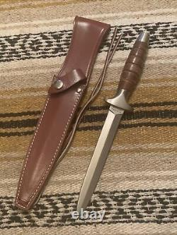 Vintage Vietnam Era Valor Miami Fl. #373 Commando Boot Fighting Dagger Knife