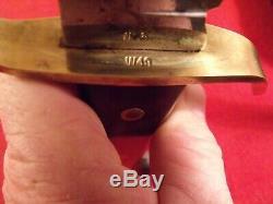 Vintage Western W49 Bowie Knife Vietnam Era