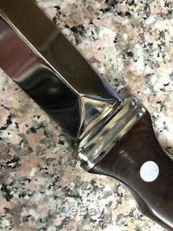 Vtg 1977 Ag Russell Sting II Micarta 8 Large Dagger Boot Knife Solingen Germany