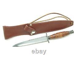 Vtg C. I. Compass Fukuta Seki Japan Fairbairn Sykes Commando Combat Dagger Knife