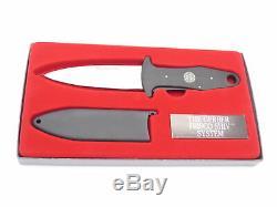 Vtg Gerber Portland Or Frisco Shiv 22 Survival Fixed Blade Dagger Knife & Sheath